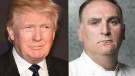 El presidente de los Estados Unidos y el cocinero español mantienen un pleito tras haberse demandado mutuamente.