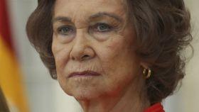 La reina Sofía el pasado 23 de enero en los Premios Nacionales del Deporte.