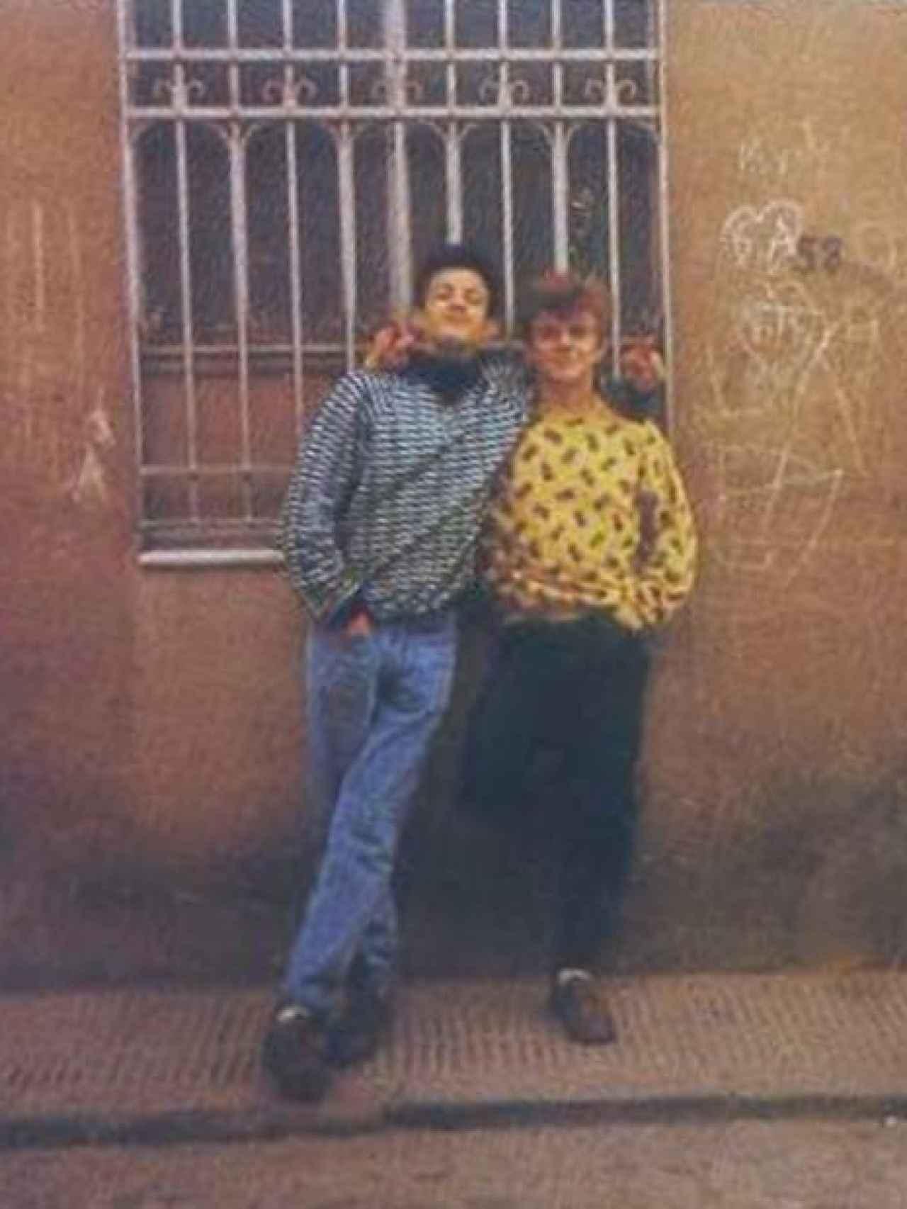 Miguel Ricart y Roberto Anglés, hermano de Antonio