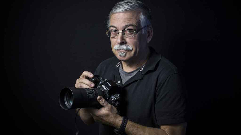 El fotoperiodista Tomás Díaz Japón.