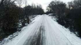 carretera nieve nevada 5