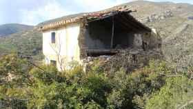 La casa de La Romana donde las niñas fueron violadas y torturadas está en ruinas.