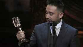 Bayona en la entrega de los Premios Gaudí.