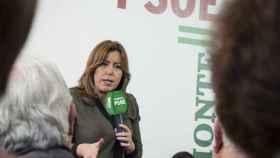 Susana Díaz, en un acto de partido este sábado.