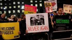 Manifestaciones contra la medida de Trump este lunes en Londres
