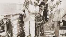 Algunos de los pasajeros que se embarcaron en 1939 en el Saint Louise huyendo del nazismo.