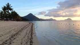 Una playa en Isla Mauricio