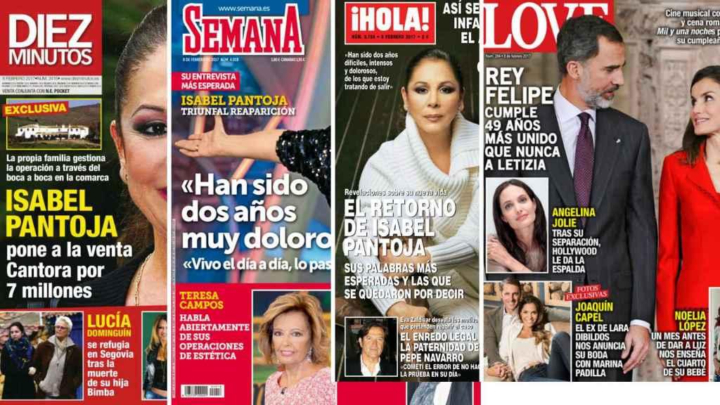 Las revistas de este miércoles.
