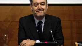 Miguel Zugaza el día del anuncio de su marcha.