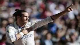 Gareth Bale celebrando un gol. Foto: Twitter @GarethBale11