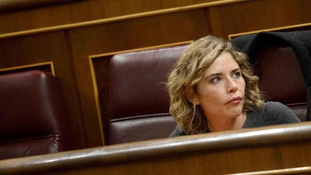 La diputada de Ciudadanos Marta Martín, en el Congreso de los Diputados