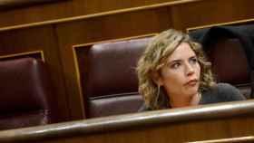 La diputada de Ciudadanos Marta Martín en el Congreso de los Diputados