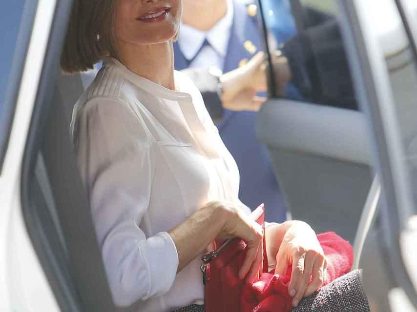 La reina Letizia en Honduras, hace dos años, en su primer viaje de cooperación en solitario.