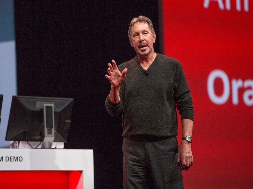 El cofundador de Oracle, Larry Ellison.