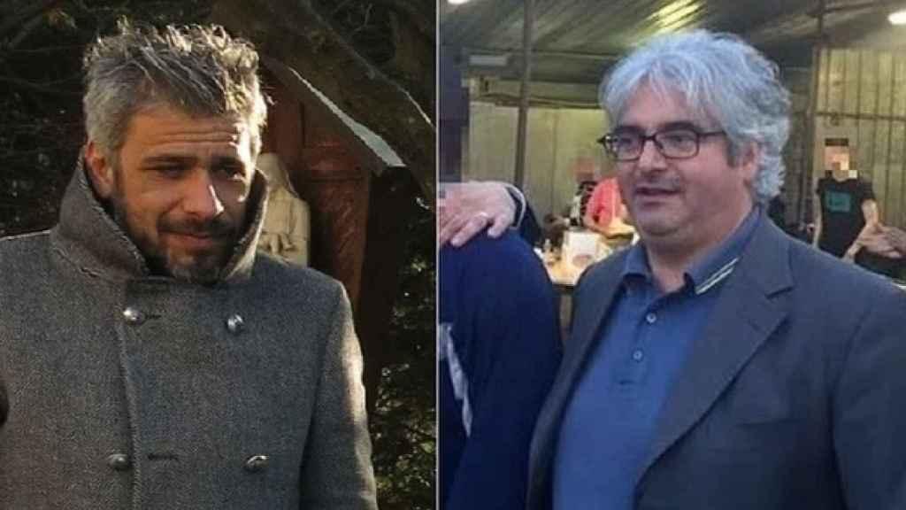 Roberto Caravazza, el George Clooney de la Iglesia y cómplice de Contin (dcha.)