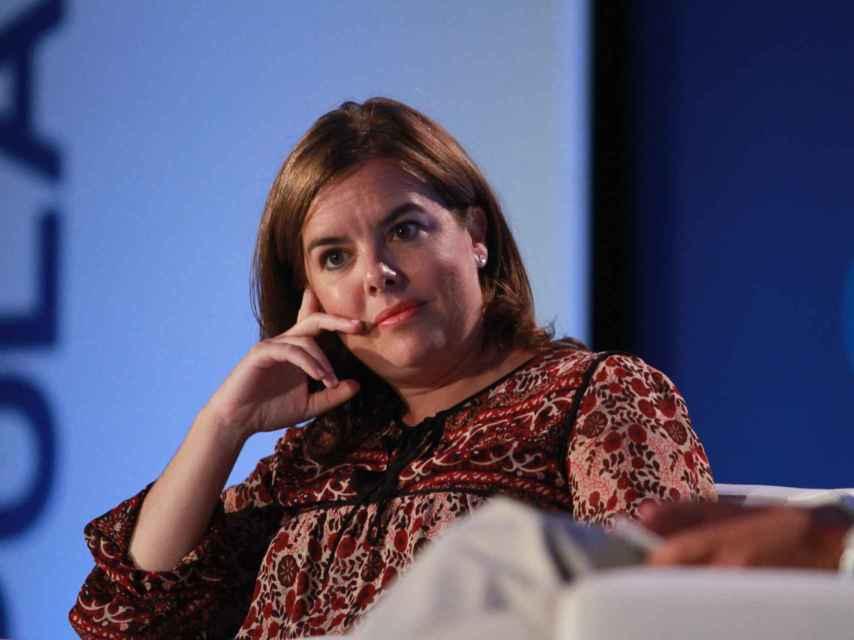 Soraya Sáenz de Santamaría, en una imagen de hace varios años.