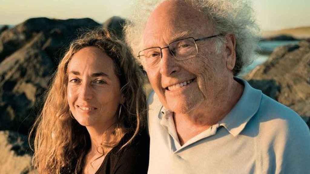 Eduardo Punset con su hija Carolina.