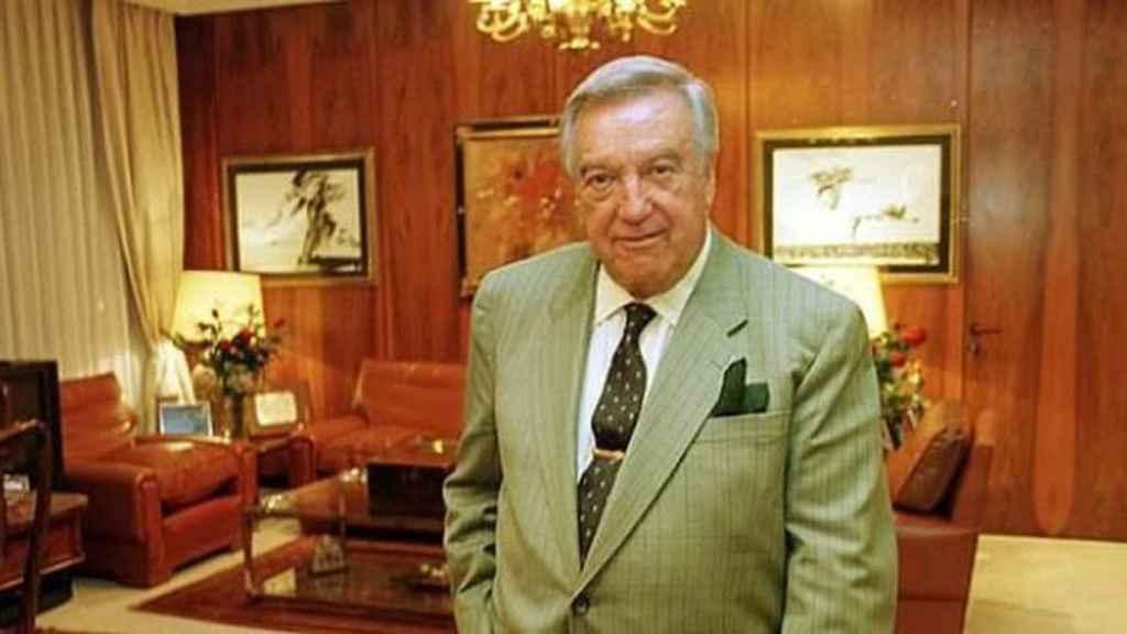 El fallecido David Álvarez, fundador del holding familiar