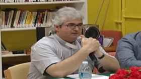 El cura Andrea Contin, en una imagen del canal YouTube