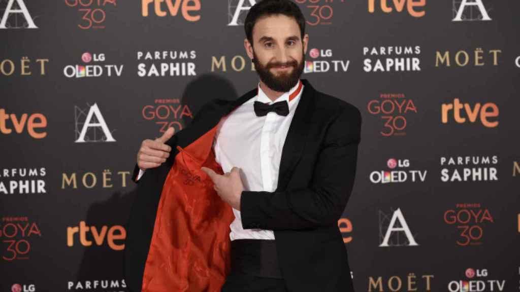 Dani Rovira en los premios Goya 2016.