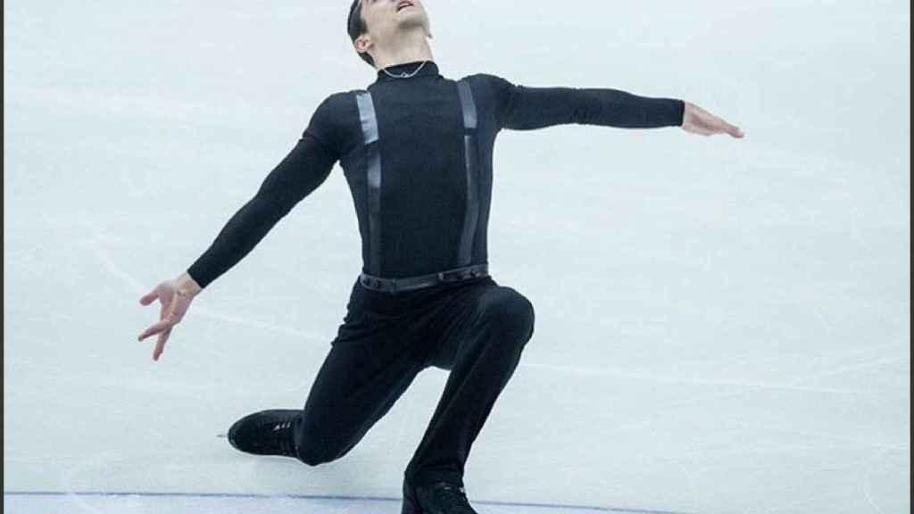 El patinador Javier Fernández. Foto: Twitter @javierfernandez