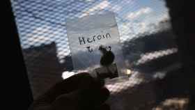 Una bolsita de heroína en una imagen de archivo.
