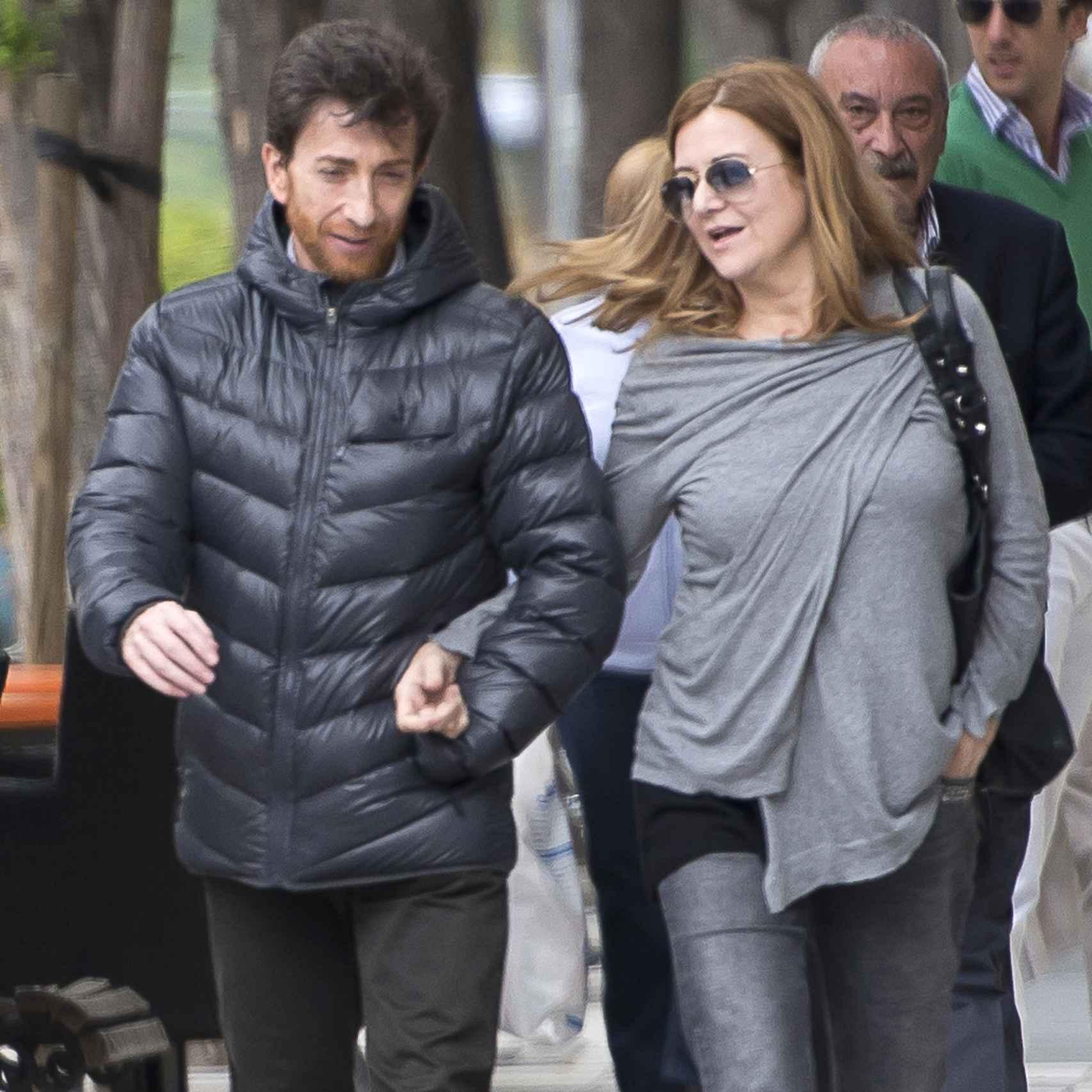 Pablo Motos y su mujer, Laura Llopis.