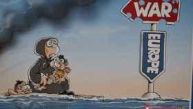 exposicion ilustraciones grecia refugiados valladolid 8