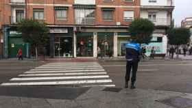 policia valladolid vigilancia pasos peatones 3