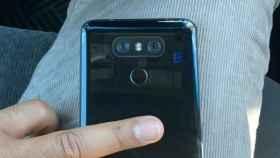 El LG G6 muestra su parte trasera con un acabado deslumbrante