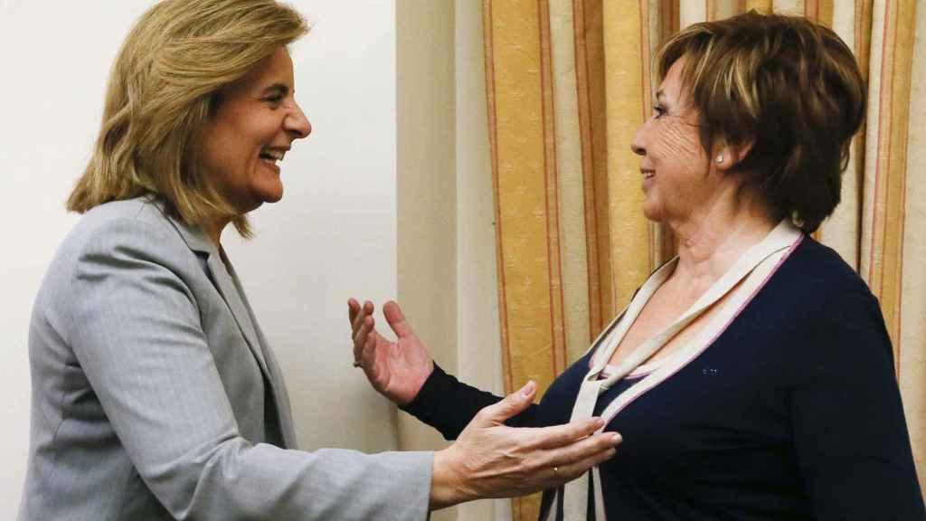 Bañez y Villalobos en la Comisión del Pacto de Toledo.