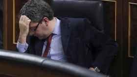 El ministro de Energía, Álvaro Nadal, en el Congreso de los Diputados