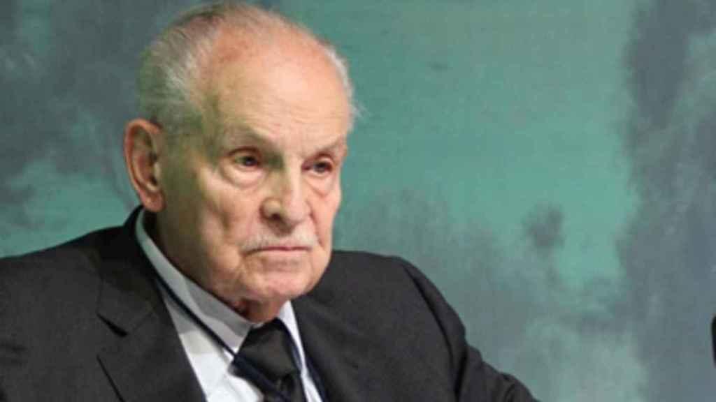 El empresario mexicano y fundador de Grupo Bimbo, Lorenzo Servitje.