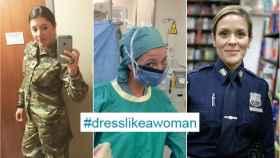 Decenas de usuarias dejan claro al presidente que vestirse como una mujer no es ir ceñida.