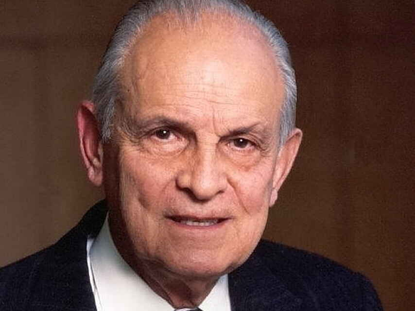 El fundador del mexicano Grupo Bimbo, Lorenzo Servitje.