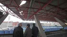 La chapa de Balaídos rota en el Celta - Real Madrid de febrero.