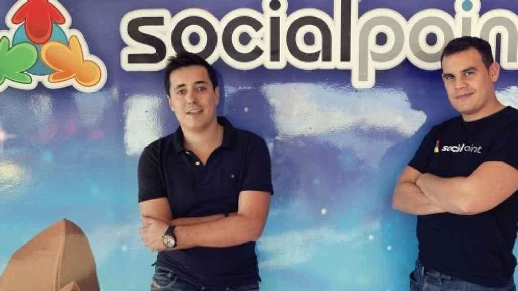 Fundadores de Social Point, Andrés Bou y Horacio Martos.