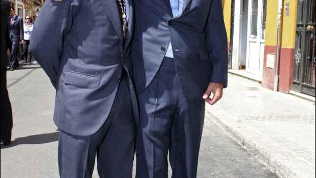 Fran Rivera y Cayetano Martínez de Irujo, en el año 2009