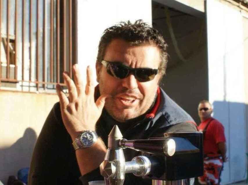 El agresor Rafael García.