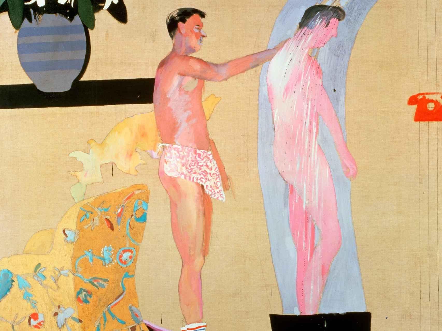 La intimidad y la distancia, David Hockney.