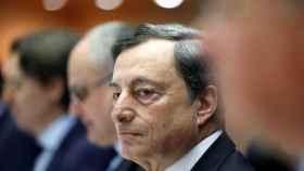 Draghi, durante una comparecencia en la Eurocámara