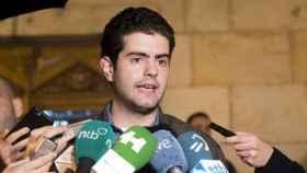 El alcalde de Alsasua, Javier Ollo, de Geroa Bai.