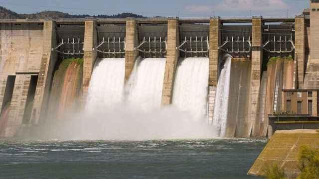 Una central hidroeléctrica.