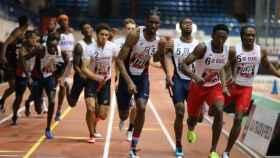 Una prueba de jóvenes atletas en EEUU.