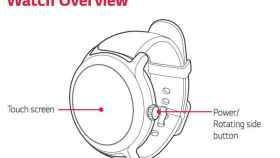 Así son los nuevos relojes de Google según sus manuales