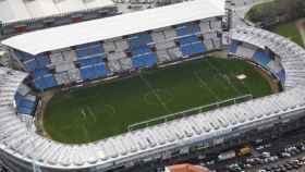 Plano aéreo del estadio de Balaídos