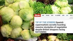 Uno de los titulares de 'The Sun' en los últimos días.