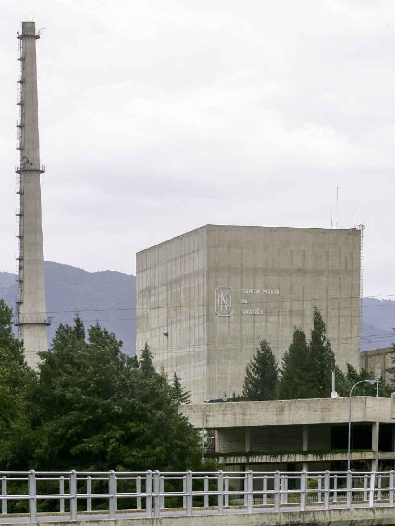 Imagen de archivo de la central nuclear de Garoña.