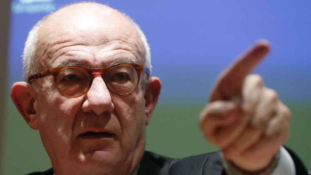 El presidente del Consejo de Seguridad Nuclear (CSN), Fernando Marti Scharfhausen.