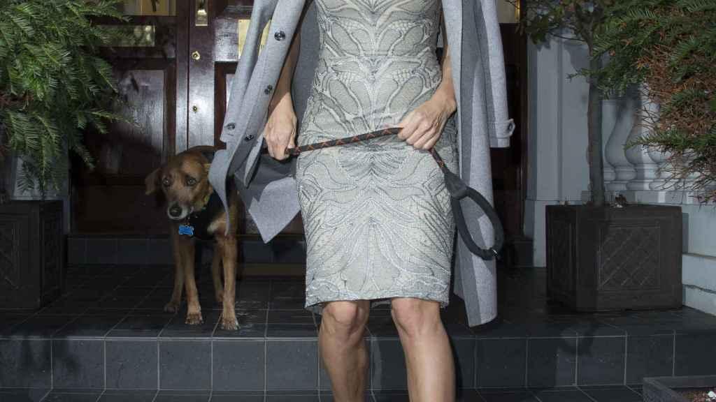 Pamela Anderson ha visitado en varias ocasiones a Julian Assange en los últimos meses.